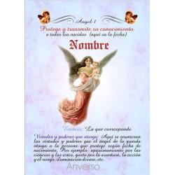 Tarjeta ángel